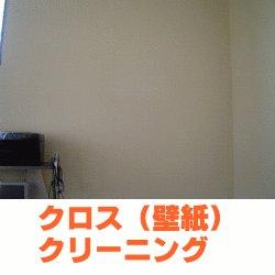 画像1: クロスクリーニング(洗浄)   【8畳間まで 高さ2.4m位】